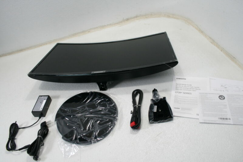 Samsung LC27F390FHN Curved Desktop  CF390 Series 27 Inch FHD Monitor Black