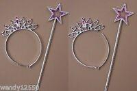 12x Plateada De Plástico Diadema Tiara & Star Sistemas De Tubo : Sp-hf543 Pk12 -  - ebay.es