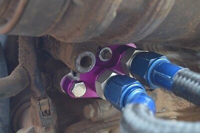 Lexus LS400 Remote Oil Filter adapter and Oil Cooler SC400 1uzfe 2uzfe #8