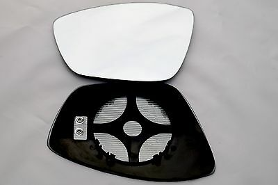 PEUGEOT 208 2012-2019 WING MIRROR GLASS CONVEX HEATED LEFT SIDE CLIP ON
