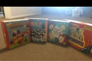 4 boutique board games, mint condition, 4 yrs+ Chapel Hill Brisbane North West Preview