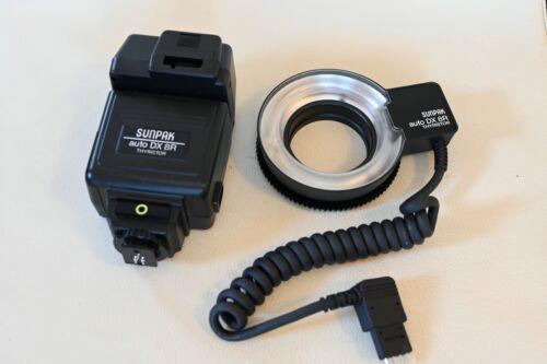MINT! Sunpak DX 8R Ring Light/Macro Flash for Canon