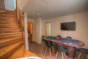 Fully Furnished 5 Bdrm *Steps Away from UQAM* - Flexible Lease