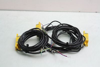 3 Sick Re300-da03p Reed Contact Magnetic Interlock Safety Switch Sensors