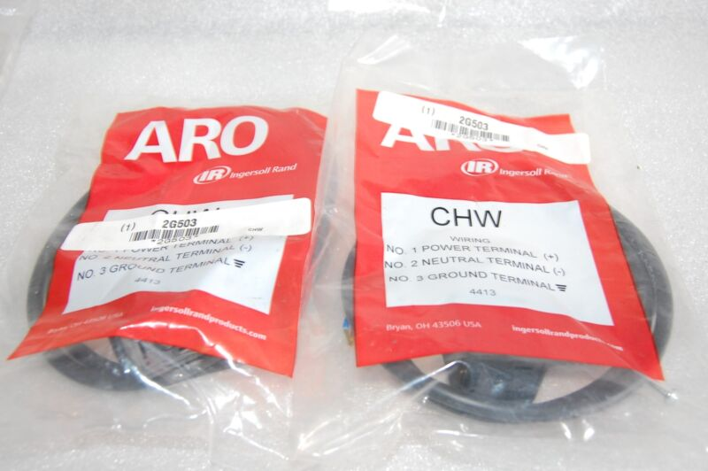ARO CHW SOLENOID CONNECTOR LOT OF 2