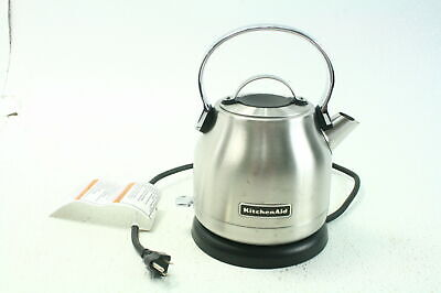 KitchenAid KEK1222SX 1.25 Liter Electric Cordless Kettle Brushed Stainless Steel