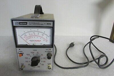 Bk Precision Wide Band Ac Voltmeter Model 295