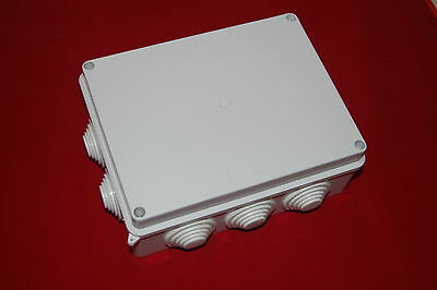 1pc Plastic Waterproof Electrical Junction Box 20015580mm Ip65