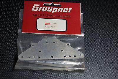 Graupner Kyosho 4973/12  Fairlady Hinterplatte mit Federhalter neu 80er Jahre