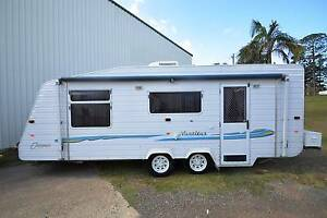 2007 compass nautilus 20' full ensuite tandem axle caravan Gympie Gympie Area Preview