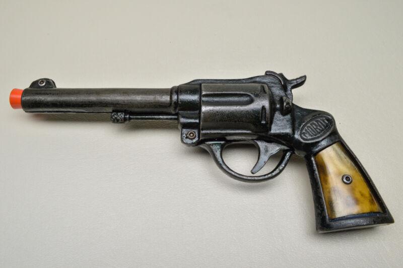 Vintage MORDT Cap Gun - Dart Shooter with Celluloid Grip Inserts 1930**** (Rare)