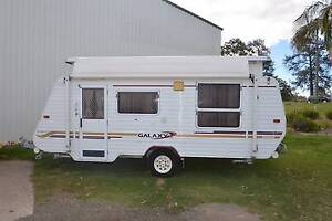 2004 16'6 GALAXY SOUTHERN CROSS POPTOP WITH AIRCON AND FULL ANNEX Gympie Gympie Area Preview
