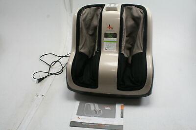 Human Touch 200-SOL-001 Reflex SOL Foot Calf Relaxation Shiatsu Massager Black