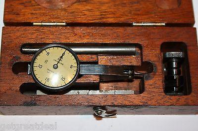 Brown Sharpe Dial Indicator Vintage .001 Jeweled Kit Usa