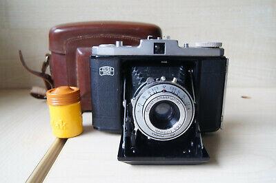 Zeiss Ikon Nettar 517/16 camera. Novar f/6.3 75mm. 6x6 on 120