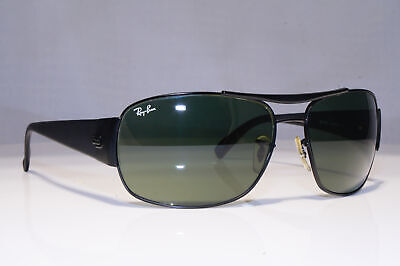 RAY-BAN Mens Vintage Sunglasses Black Square NOS Immaculate RB 3357 006 23362