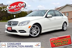 2011 Mercedes-Benz C-Class C300 4MATIC LEATHER SUNROOF HTD SEATS