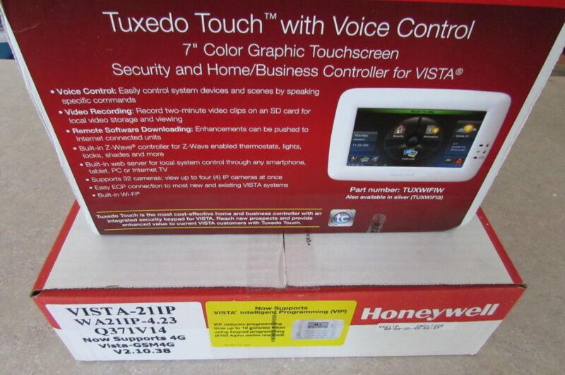Honeywell Vista-21IP TUXWIFI 5800MICRA 6160RF 5800PIR-RES + more 37 Piece Kit