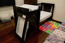 Grotime Bed (Changeover Cot) with bassinet and cot mattress East Victoria Park Victoria Park Area Preview
