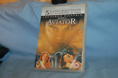 THE AVIATOR Starring :- Leonardo DiCaprio~ Cate Blanchett~Kate Beckinsale D.V.D