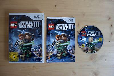 Wii - LEGO Star Wars III 3: The Clone Wars - (OVP, mit Anleitung)