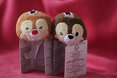 Chip and Dale tsum tsum - genuine from Disney.