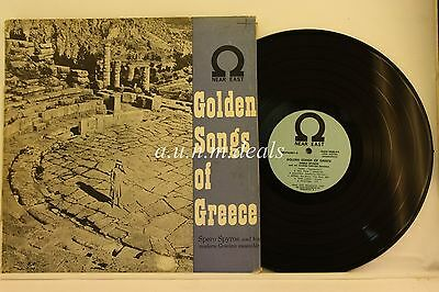 Golden Songs Of Greece   Spero Spyros   Near Est     Lp 12   Vg
