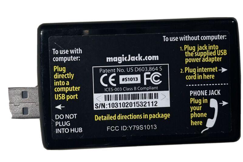 Magic Jack Plus Phone Jack - Calling Local & Long-Distance reduce bill VOIP