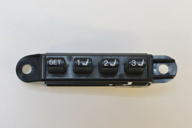 LEXUS GS 450H SALOON 2007 RHD FRONT RIGHT/O/S DRIVERS SEAT MEMORY SWITCH 15A911