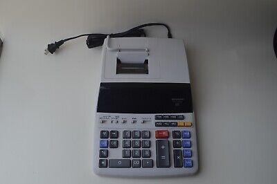 Sharp EL-1197PIII 12 Digit Printing Desktop Accounting Calculator Pre Owner