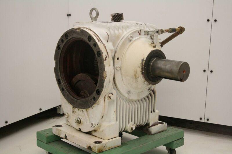 Ex-Cell-O  MU-60-W2R Cone Drive Gear Reducer 160:1 Ratio 5.8 HP Motor Input