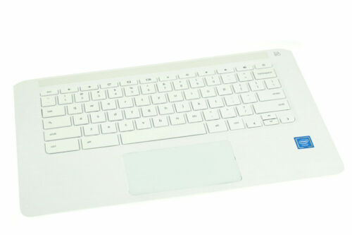 Pulled HP Chromebook 14-CA021NR Palmrest Touchpad with Keyboard L17094-001