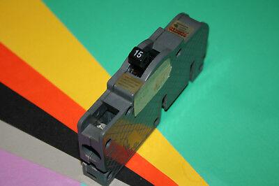 Zinsco Ubi Breaker 15 Amp 1 Pole Type Q Qc Wide Replacement