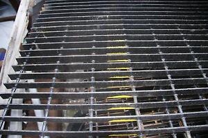 19 w 4 space welded torch cut steel bar grating 24 bar grate mezzanine floor