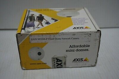 Axis M3048-p 12mp Fisheye Fixed Indoor Dome Poe Network Camera