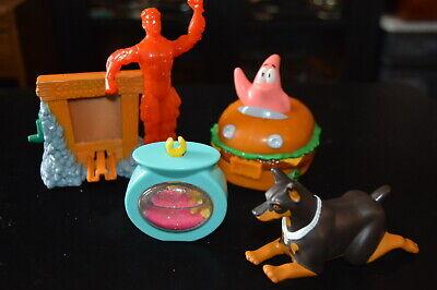 Lot of 5  BURGER KING TOYS  Giveaways  kids children fast food  DOG