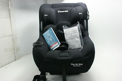 Maxi Cosi Pria 85 Max Convertible Car Seat Night Black ClipQuik Chest Clip