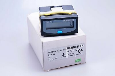 HENGSTLER TICO 731   0731101   Impulszähler / Summenzähler   NEU