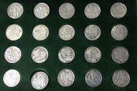 N.20 Silver Medals Italian Regions Silver 925/1000 -  - ebay.it