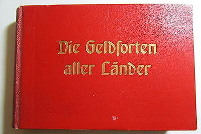 Sammlung Die Geldsorten Aller Länder Verlag Max Heimbrecht Berlin Schöneberg