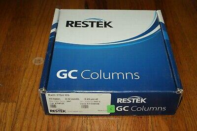 Restek Rxi-17sil Ms Gc Column 15m 0.32 Mmid 0.25um Df