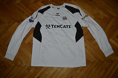 Heracles Almelo #40 Brouwer Eredivisie Match Worn Player Issue Jersey Shirt  image