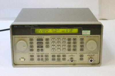 Hp Agilent 8648c Synthesized Signal Generator 9 Khz - 3200 Mhz