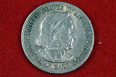 Estate Find 1893  Columbian Expo Commemorative Half Dollar # D9484
