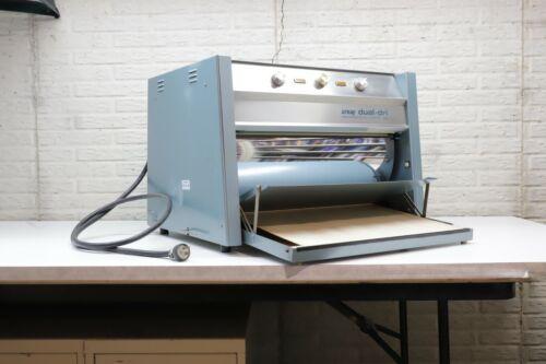 Arkay 150, Table Top Drum Dryer For Fiber Prints.
