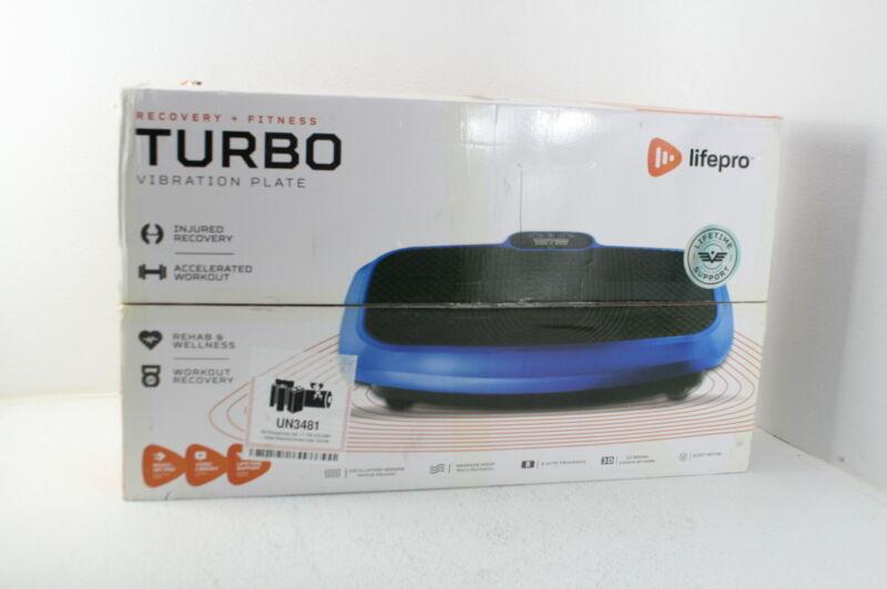LifePro 3D Vibration Plate Exercise Machine Pulsating 3D Vibration Platform Blue