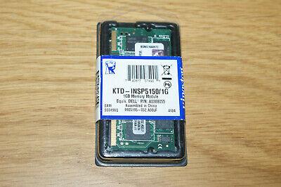 1GB DDR KINGSTON PC2700 SO-DIMM MEMORY KTD-INSP5150/1G RAM FOR LAPTOP NOTEBOOK