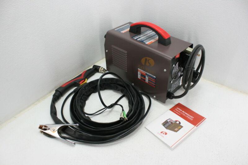 SEE NOTES Lotos LTP5000D 50Amp Pilot Arc Plasma Cutter Dual Voltage 220 Volts