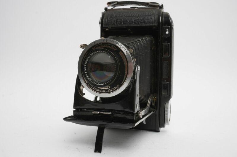 Voigtlander Bessa RF camera with Helomar 3.5 / 10,5cm lens