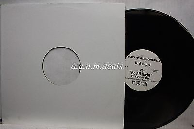"""Kid Carpi -  Unify / Be all right - Tracks Masters /  Columbia   LP 12"""" (VG)"""